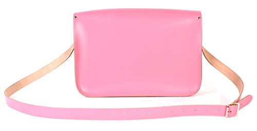 Oxbridge Satchels, Borsa a secchiello donna rosa