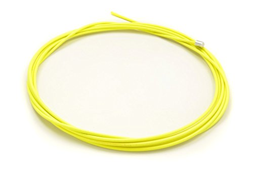 Replacement Jump Rope Speed Cable - 3/32 Kink Resistant Nylon Coated USA Made Stainless Steel Cable - 10ft Long Rope for Double Under Speed - Yellow