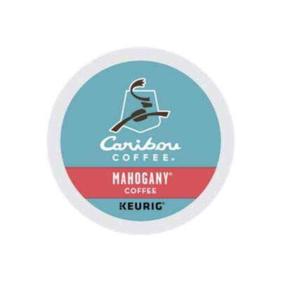 Mahogany Server - Caribou Coffee Mahogany, K-Cups for Keurig Brewers, 24-Count