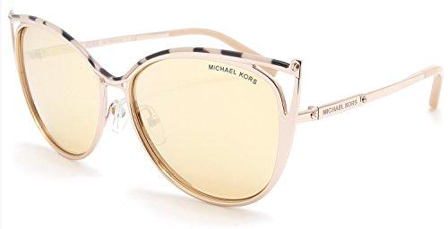Michael Kors Women MK1020 56 INA Pink/Gold Sunglasses - Kors Michael Sunglasses Pink