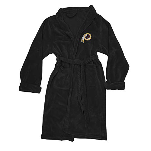 (The Northwest Company Officially Licensed NFL Washington Redskins Men's Silk Touch Lounge Robe, Large/X-Large)