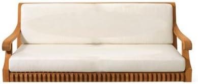 WholesaleTeakFurniture Sunbrella Fabric Seat Back Cushions for 6 feet Swing Chair Swing Sunbrella Cushions Sold Separately Model Giva WFSWGV6CS1