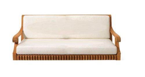 WholesaleTeak Sunbrella Fabric Seat Cushion for 6 feet Swing Chair Swing Sunbrella Cushions sold Separately Model Giva WHSWGV6CS