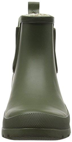 Romika Romirub 10 - botas de goma sin forro con caña corta Mujer Verde - Grün (oliv 616)