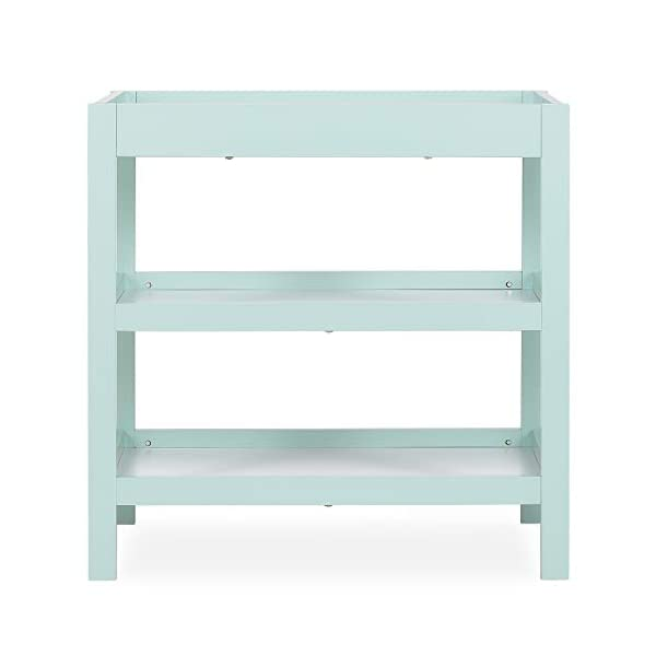 Dream On Me 737-MTW Ridgefield Changing Table in Mint and White, Mint & White