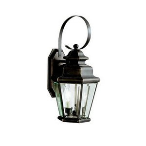 Kichler 9676OZ Two Light Outdoor Wall Mount Savannah Collection Two Light