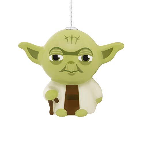 Hallmark Christmas Ornaments, Star Wars Yoda Decoupage Ornament -