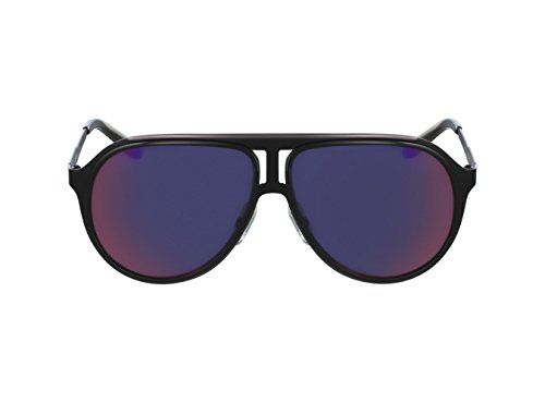 Carrera sunglasses Carrera 100/S HKQMI Metal Black Grey with Petrol mirror - Petrol Sunglasses Rectangular