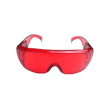 Lunettes de protection dentaire pour blanchiment des dents Polymériser  lampe UV pour masque de ski Rouge 8ffc4f09ce4c