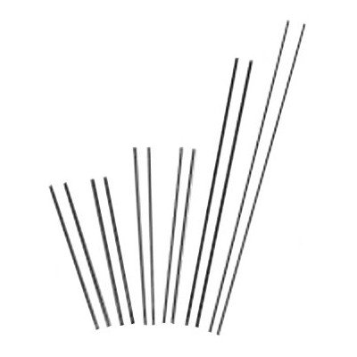 Slice Exothermic Cutting Rods-Flux Uncoateds - ar 43-049-005 slice rod4304-9005 [Set of 25]