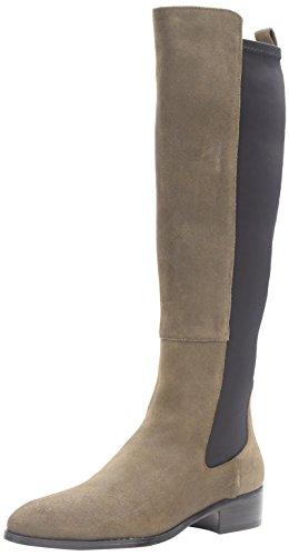 Donald J Pliner Women's Nera Tall Shaft Stretch Boot, Olive, 8 M US