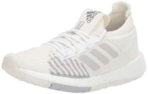 adidas Originals Women's PulseBOOST HD Running Shoe, White/Grey/Grey, 6 M US