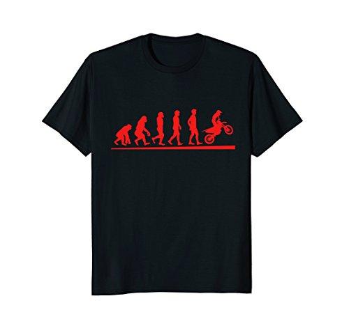Mens Motocross Evolution Dirt Bike T-Shirt | Motorcycle Shirt XL (Bike Evolution T-shirt)