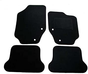 2003 /> Thick Heel Pad Perfect Fit Black Carpet Car Mats for Peugeot 307 CC