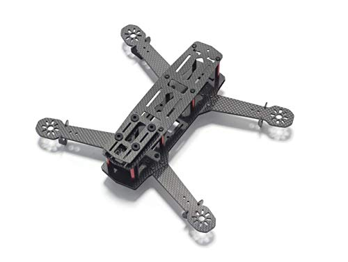Usmile 250 Quad 3K Carbon Fiber FPV Quadcopter Frame for Mini Quad miniquad FPV Quad 250mm Racing Quadcopter Mini Drone FPV Drone (Best Material For Quadcopter Frame)