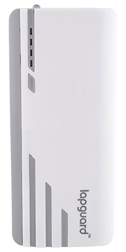 Lapguard Sailing-1530 Power Bank 15000 mAh Make In India portable charger Powerbank – White-Gry