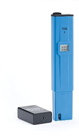 Hanna Instruments TDS1 TDS Tester, 0 to 999 ppm mg/L, 1 ppm