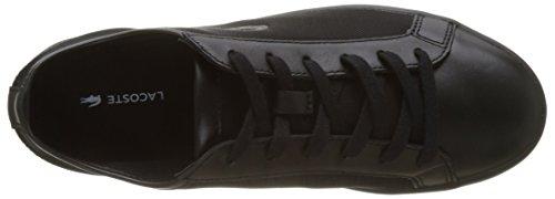 Lacoste Straightset 217 1, Bajos Mujer Multicolor (Noir/noir)