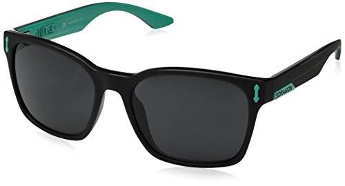 (Dragon Alliance Liege Sunglasses, Matte Black Teal/Grey )