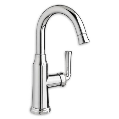 American Standard 4285410F15.002 Portsmouth 1 Handle High Arc Pull Down Bar Sink Faucet Polished Chrome