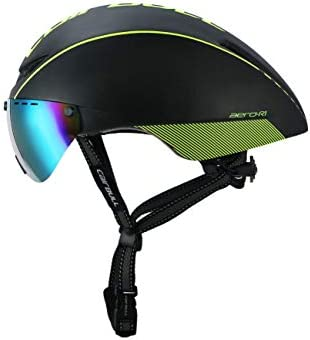 LJPHFF Casco De Ciclismo Gafas Magnéticas Bicicleta Casco De ...