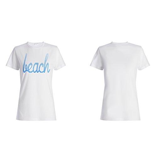 Strand lustige Neuheit Damen T-shirt d449f