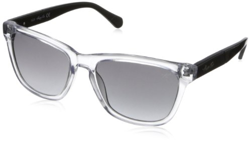 Kenneth Cole New York Womens KC7159W5527B Wayfarer SunglassesCrystal55 mm