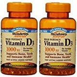 Cheap Sundown Naturals High Potency Vitamin D3, 1000 IU, 400 Softgels (Pack of 2) Total 800 Carrier to shipping international usps, ups, fedex, dhl, 14-28 Day By Dragon Shopping