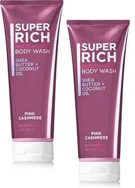 - Bath and Body Works 2 Pack Pink Cashmere Moisturizing Body Wash 10 Oz