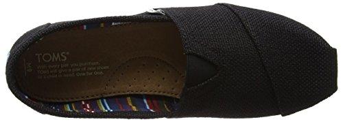 TOMS Men's Alpargata Burlap Ankle-High Fabric Flat Shoe