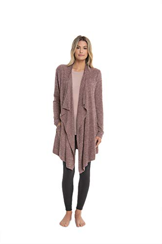 Barefoot Dreams CozyChic Lite Island Wrap, Rosewood, Small/Medium