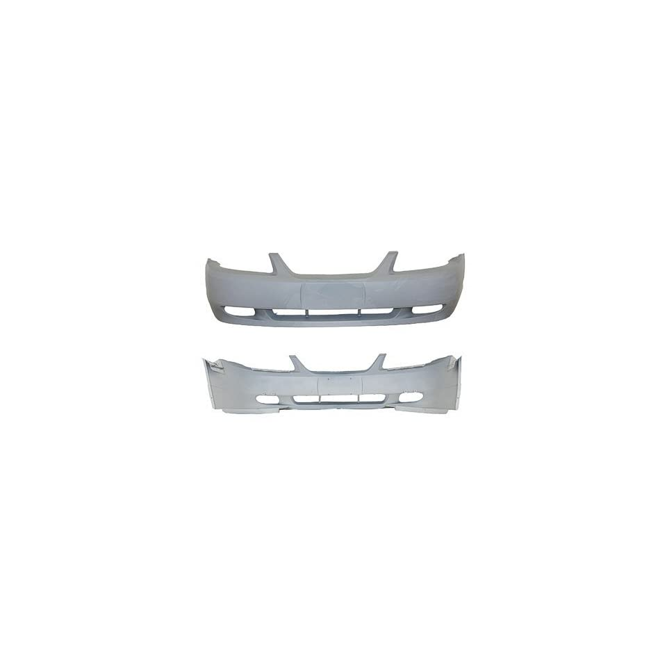 Pre Painted Ford Mustang (GT Model) Front Bumper Painted to Match Vehicle