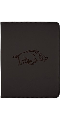 (Arkansas Razorback Design on Black 2nd-4th Generation iPad Swivel Stand Case)