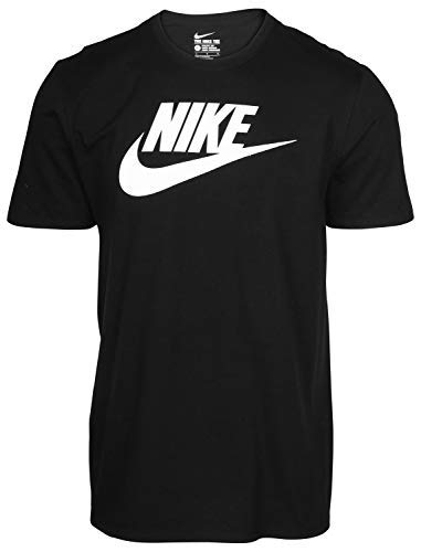 Nike Men's Graphic T Shirt Cotton Black (Nike Graphic Tshirts For Men)