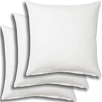 Amazon Com Set Of 3 Pillow Insert 16x16 Decorative
