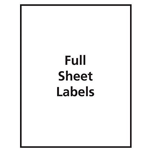 """Avery Frosted Full Labels for Inkjet Printers, 11"""", Labels"""