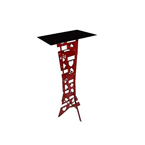 Enjoyer Aluminum Alloy Magic Folding Table Poker Table for Magicians Accessories Magic Tricks Stage Illusions Gimmicks ()