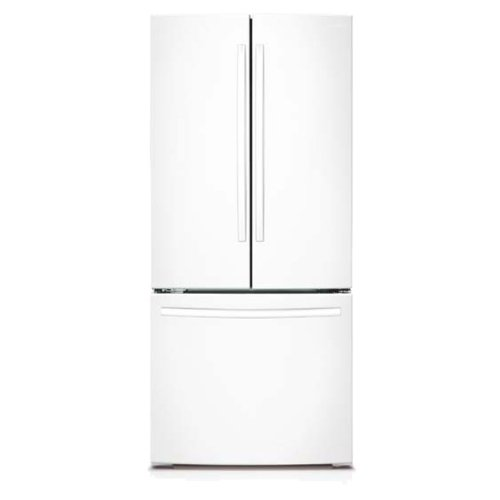 Samsung 30 in. W 21.8 cu. ft. French Door Refrigerator in White