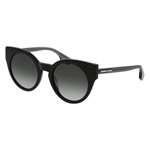 Sunglasses Alexander McQueen MQ 0074 S- 001 BLACK / GREY - Alexander Gray Optical