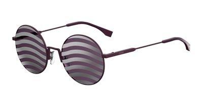 Fendi Women FF 0248/S 53 Purple/Purple Sunglasses - Fendi Outlet Sunglasses