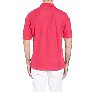 Tommy Bahama Men's The Emfielder Polo Shirt Bright Rose, Medium