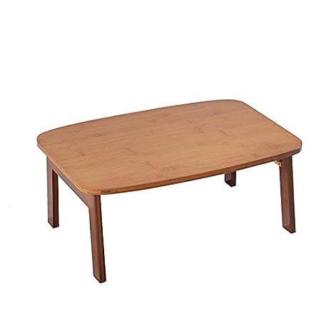 ZHAS Mesa Plegable y Mesa de Comedor Mesa de Comedor de bambú Mesa ...