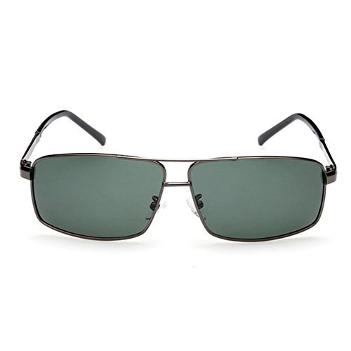 A-Royal Mens Outdoor Fashion Metal Frame Polarized Cool - An Oval I Face Have Do