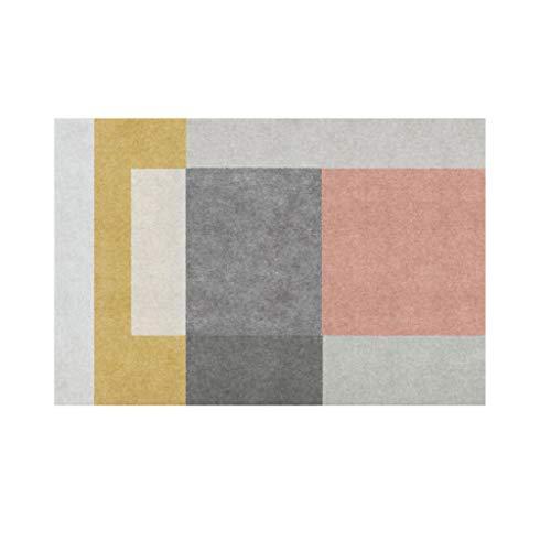 Briskaari Store- Fashion Door Floor Foot Bathroom Kitchen Mat Living Room Bedroom Decorative Carpet Area Rug Rug Pads (Color : A, Size : 80cm160cm) by Briskaari Store