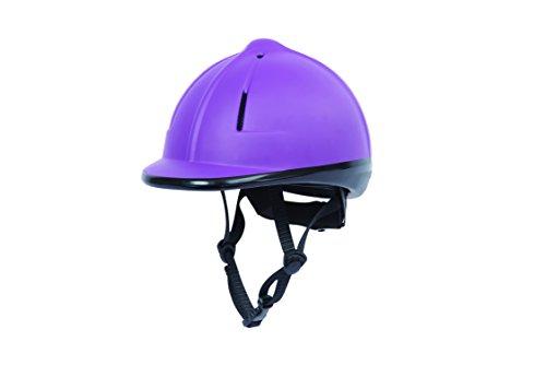 Purple Riding Helmet - 4