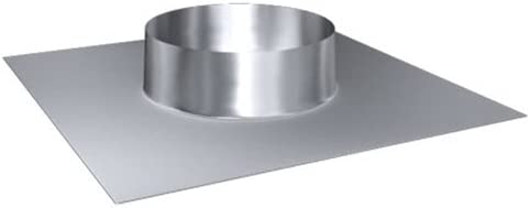 Kamin Dachdurchf/ührung Edelstahl Regenkragen 300 mm Rohrdurchmesser 300 mm