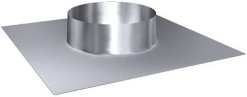MK sp Edelstahl gl/änzend Keine Farbe w/ählbar Z o.o Lochdurchmesser 200 mm Edelstahl DW 120 Dachdurchf/ührung 20/°-35/° Schornstein