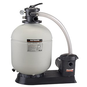 Hayward S230T932S 23-Inch Pro Series Sand Filter System with 1-1/2 HP 2 Speed Power-Flo Matrix Pump by Hayward