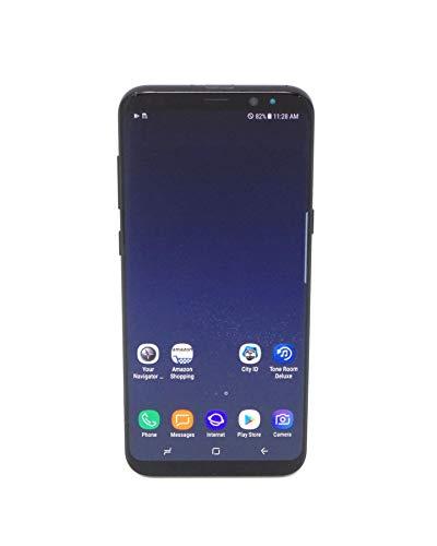 Samsung Galaxy S8+ G955U 64GB Unlocked GSM U.S. Version Smartphone w/ 12MP Camera - Midnight Black (Renewed)