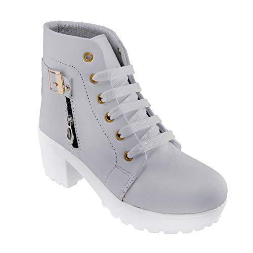 DICY Boots Shoe Jeans for Girls High Heel (Ankle) Stylish Ideal for Both Women & Girls  Wear These as Casual or Even for…